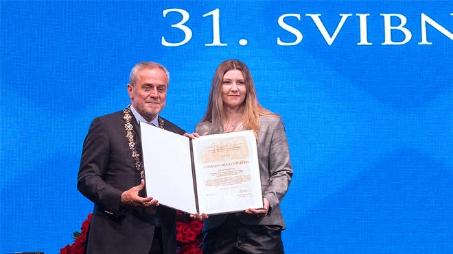 Laura Štefanac dobila je Nagradu Grada Zagreba