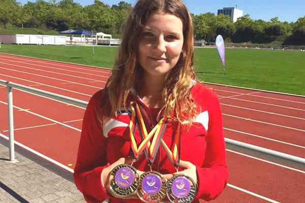 3. EP gluhih za juniore u atletici, 25. – 27.08.2016., Karlsruhe