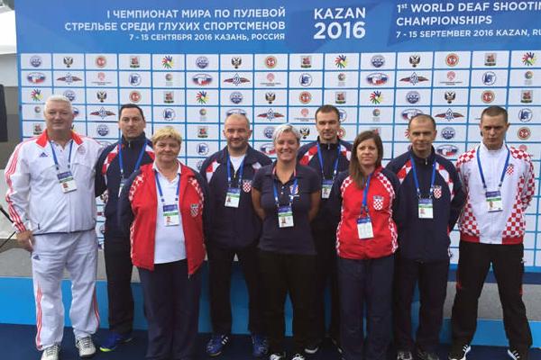 Dobar nastup naše Lane Skeledžije i Borisa Gramnjaka osigurao je dvije medalje za Hrvatsku