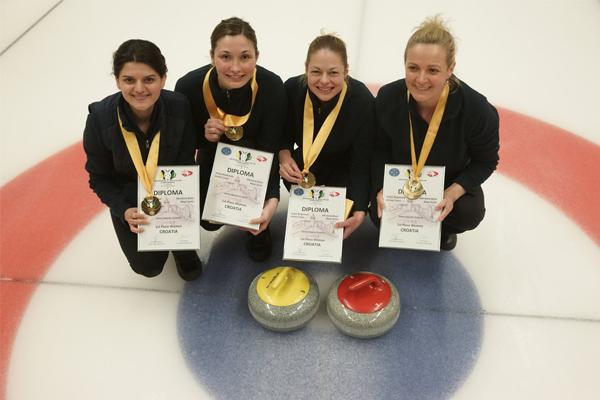 Hrvatska ženska curling reprezentacija gluhih na krovu Europe!